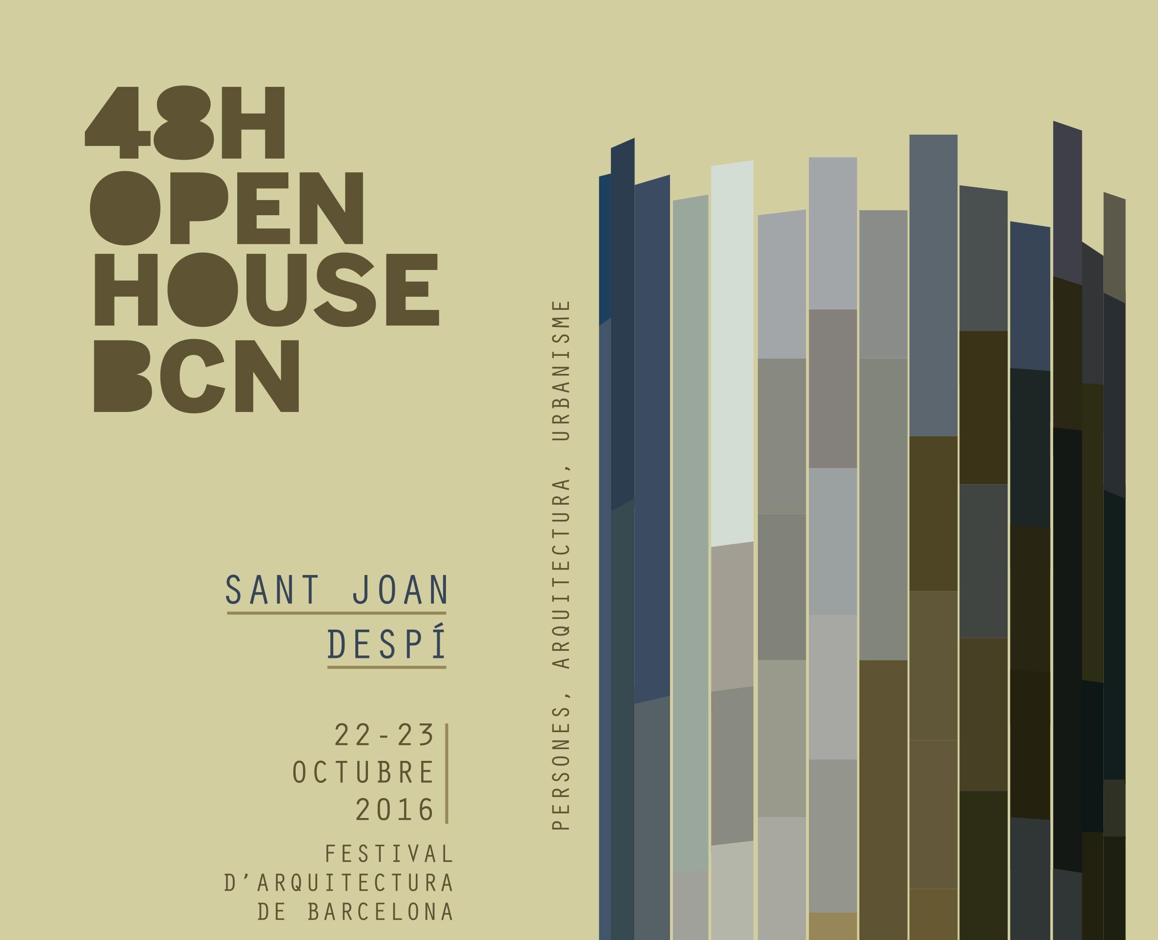 Open house bcn 2016 ajuntament de sant joan desp - Agenda cultura barcelona ...