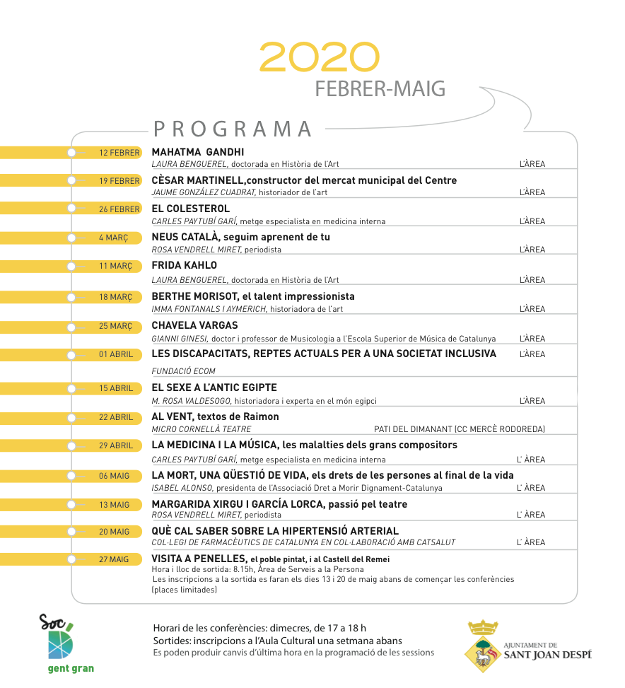 Programa Aula Cultural 2020