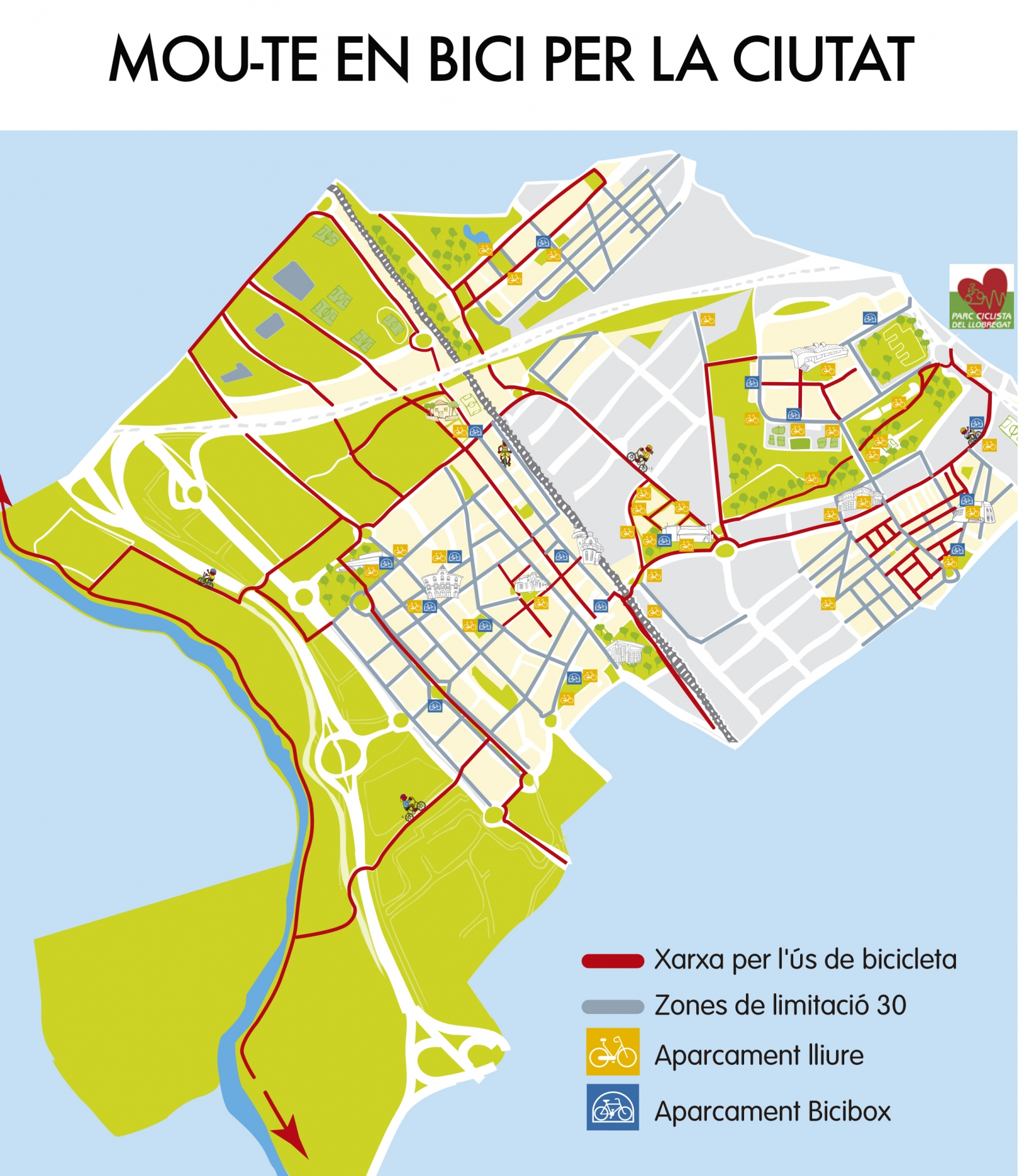 mapa mobilitat bicicleta