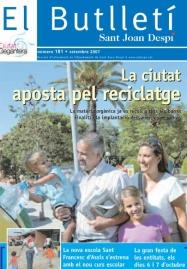 El Butlletí 181, setembre 2007