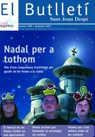 El Butlletí 184, desembre 2007