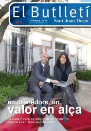 El Butlletí 216, febrer 2011