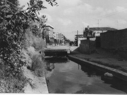 Con los años el antiguo canal se degradó mucho