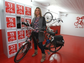 Nou pàrking bicicletes elèctriques