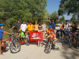 Família Piqué Garde, Chanivet Jacas, Benavente Lozano, Jacas Gimeno,Via Verda (Terra Alta-Tarragona)