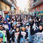 Una de les comparses de la Rua de Carnaval