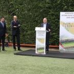 El alcalde, Antoni Poveda, en un instante de su intervención