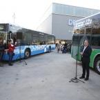 L'alcalde i vicepresident de Transport i Mobilitat, Antoni Poveda, durant la presentació