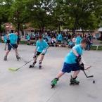 Els infants van poder practicar els diferents esports que es fan a la ciutat