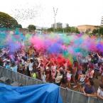 La Festa Holi, una opción colorida para el úlitmo día de fiesta