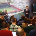 Batomeu calificó el nuevo estadio como la 'joya' de la Ciudad Deportiva