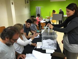 La ciutadania, convocada a les urnes per exercir el dret al vot