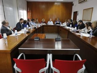 Un moment de la reunió dels representants de l'acord