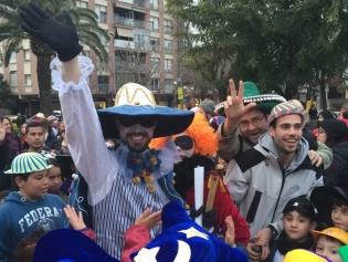 Joan Despitoltes, arribant a la plaça del Mercat