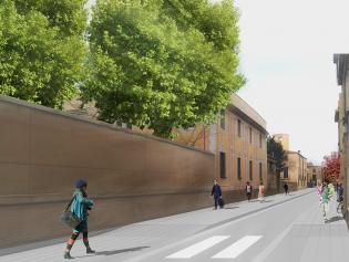Imatge virtual de la proposta de reforma per el carrer Major
