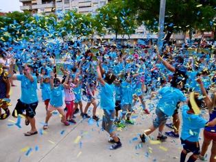 Més de 2.500 infants van gaudir d'una gran festa