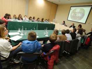 El nou Consell dels Infants treballarà en temes de lluita contra la contaminació