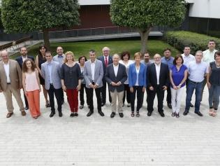 Els nous regidors i regidores de l'Ajuntament de Sant Joan Despí