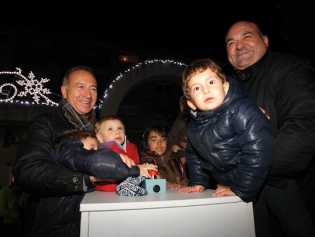 L'encesa de llums serà una festa pels infants