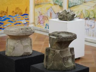 Algunes de les peces que es podem contemplar a l'exposició