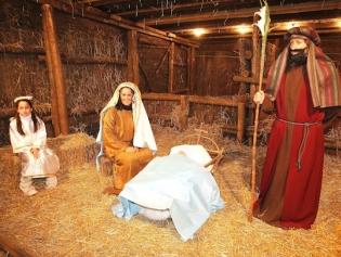 El pessebre vivent, una clàssica tradició nadalenca a la ciutat