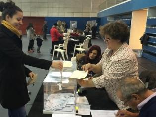 Votaciones en el Salvador Gimeno