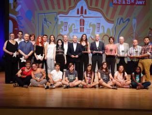 Els guardonats dels Premis Sant Joan Despí 2017