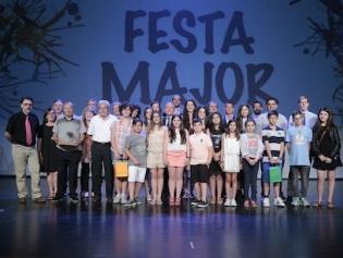 Foto de conjunt dels premiats