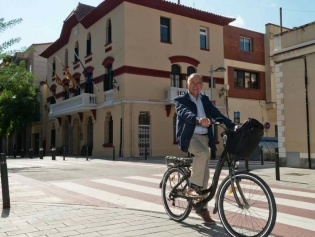 Antoni Poveda, firme defensor de la bicicleta