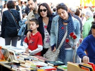 Roses i llibres per tota la ciutat