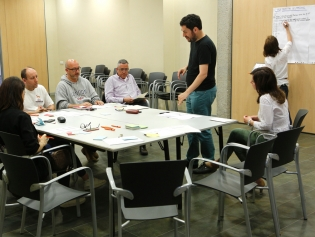 Una de les sesiones participativas del PAM