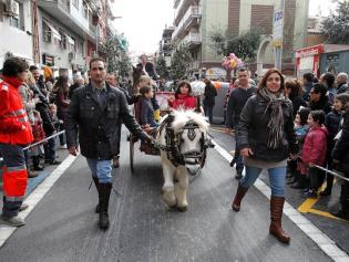 Vuelve una fiesta tradicional catalana muy vistosa