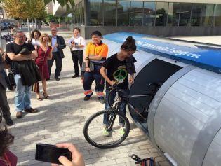 El Bicibox de Sant Joan Despí desperta l'interès europeu