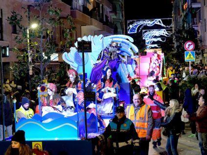 Los Reyes llegarán a las 17.15 h al parque de la Fontsanta